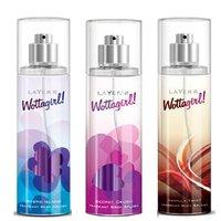 Layer'r Wottagirl Mystic Island, Secret Crush, Vanilla Twist Deodorant (pack Of 3) 135ml Each