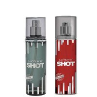 Layer'r Shot Power Play, Red Stallion Deodorant (pack Of 2) 135ml Each
