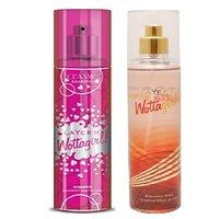 Layer'r Wottagirl Classic Romance, Crimson Chic Deodorant (pack Of 2) 135ml Each