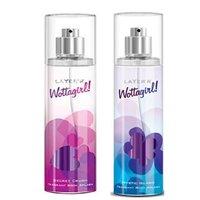 Layer'r Wottagirl Secret Crush, Mystic Island Deodorant (pack Of 2) 135ml Each