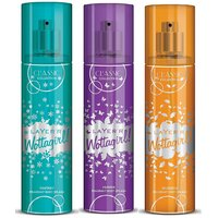 Layer'r Wottagirl Fantasy, Heaven, Blossom Classic Body Spray (pack Of 3) 135ml Each