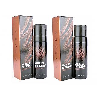 Wild Stone Copper Body Spray (pack of 2) 120ml each