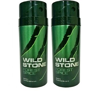 Wild Stone Forest Spice Deodorant (Set of 2) 150ml each