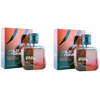 Wild Stone Ultra Sensual Spray Perfume 100ml Pack 2