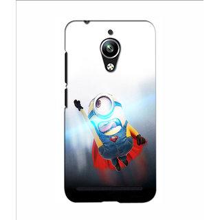 Instyler 3D Digital Printed Back Cover For Asus Zenfone Go
