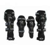 Axo Riding Gear Elbow & Knee Guard Black Color-Set Of 4 Pc