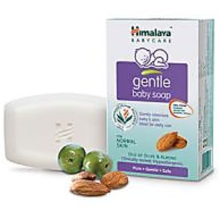 Himalaya Herbal Gentle Baby Soap - 125 Gm Almond Pack Of 1