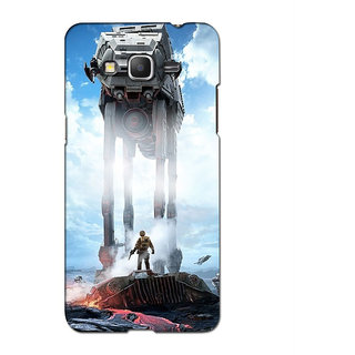 Instyler 3D Digital Printed Back Cover For Samsung Galaxy J7