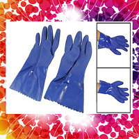 Latex Working Gloves Protect Hands From Corrosive Action Of Chemicals