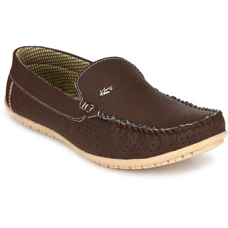 Knoos Brown Men Loafers