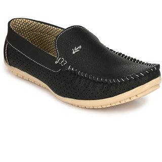 Knoos Black Men Loafers