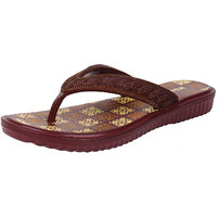 Bersache Footwear Women/Girls Brown-451 Flip-Flop  Slipper