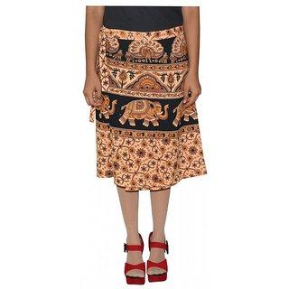 Gurukripa Shopee Printed Women's Wrap Around Skirts GSKWCK-A0297