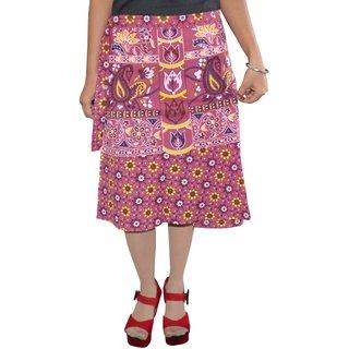 Gurukripa Shopee Printed Women's Wrap Around SkirtsGSK WCK-A0300