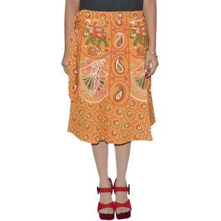 Gurukripa ShopeePrinted Women's Wrap Around Skirts GKSWCK-A0307