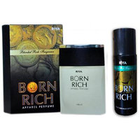 Riya Born Rich Apparel Perfume (100 Ml)  Riya Born Rich Perfume Body Spray (150 Ml) (Combo)