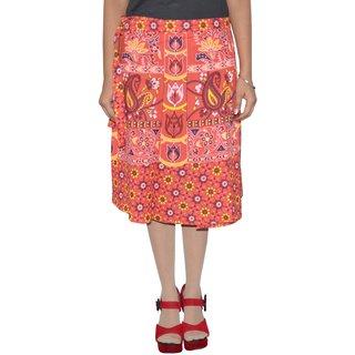 Gurukripa ShopeePrinted Women's Wrap Around Skirts GKSWCK-A0311