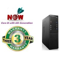 Lenovo S510SFF I3, 6th Gen Tower Desktop ( Core I3 (6th Generation) 4 GB 500 GB DOS )