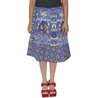 Gurukripa ShopeePrinted Women's Wrap Around Skirts GKSWCK-A0319