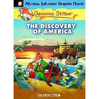 Geronimo Stilton Graphic #01 The Discovery Of America (English) (Paperback  Geronimo Stilton)