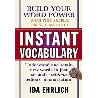 Instant Vocabulary (Paperback)