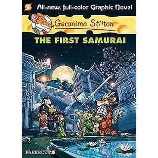 Geronimo Stilton Graphic #12 The First Samurai (English) (Paperback  Geronimo Stilton)
