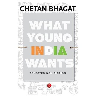 What Young India Wants (English) (Paperback  Chetan Bhagat)