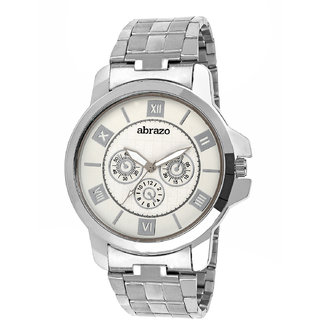 abrazo Men's Analog Watch 0059-WH