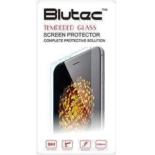 Blutec Tempered Glass Screen Protector For Micromax Bolt supreme 4 Q352