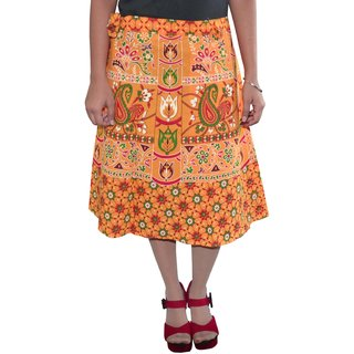 Gurukripa ShopeePrinted Women's Wrap Around Skirts GKSWCK-A0303