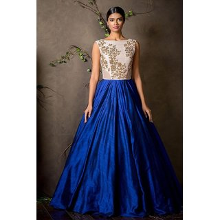 Style Amaze Presents Designer Blue Gown