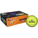 Headly Cricket Tennis Ball  Heavy Yellow(Pack Of 6 Pcs.)