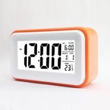 Everything Imported Luminous Touch-Sensitive Smart Electronic Clock (Blue)