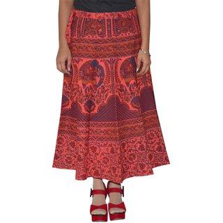 Gurukripa Shopee  Printed Women's Multicolor Wrap Around Skirts GKSWCC-A0149