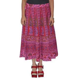 Gurukripa Shopee  Printed Women's Multicolor Wrap Around Skirts GKSWCC-A0152