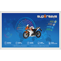 TWO WHEELER GPS TRACKING DEVICE - SUPERSAFE