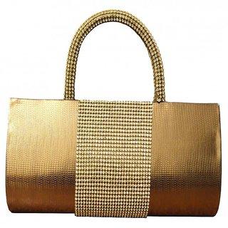 Splice Fashion Lady Gorgeous Party Evening Purse Handbag Tote Clutch Bag Golden