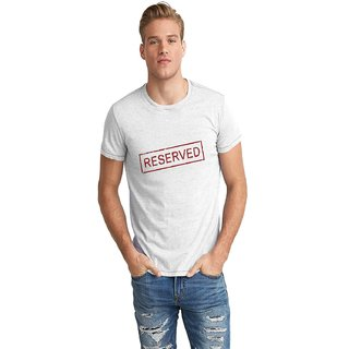 The Fappy Store Reserved Half Sleeve T-Shirt