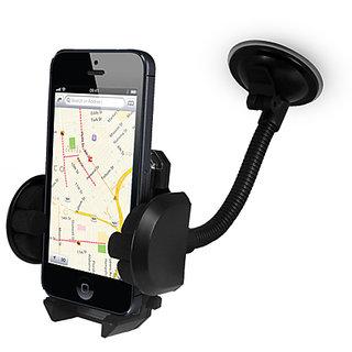 FASTOP Car Mount Cradle Holder Windshield Mobile Holder 360 Stand / GPS Suction Holder For   Hyundai Elite I 20 SPORTZ OPTION 1.2