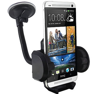 FASTOP Car Mount Cradle Holder Windshield Mobile Holder 360 Stand / GPS Suction Holder For TATA BOLT QUADRAJET XMS