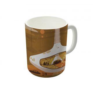 Dreambolic Archinowhere 013 Study Coffee Mug