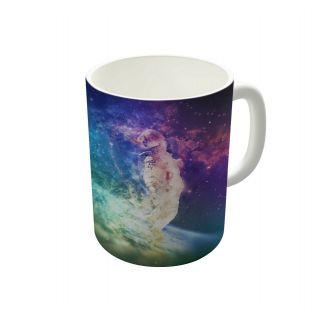 Dreambolic Astronaut Dissolving Through Space Coffee Mug