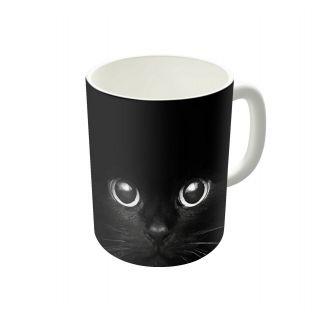Dreambolic Black Cat Coffee Mug