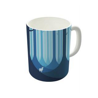 Dreambolic Blue Forest Coffee Mug