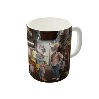 Dreambolic A Cats Night Out Coffee Mug