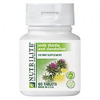 Amway Milk Thistle With Dandelion 60 Tabs