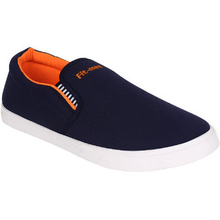 Bersache Men/Boys Blue-486 Loafers And Moccasins (Casual Shoes)