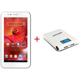 ADCOM A680 DUAL SIM 3G  PLUS  Power Bank APB 11200  With Samsung Cells - WHITE