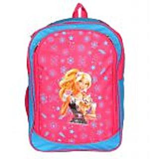 PARADIGM FASHIONS Princess Blue Pink School Bag for Kids