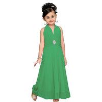 Aarika Rama Girls Self Design Gown